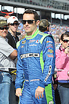 Sprint Cup Series driver Casey Mears (13) in action before the NASCAR Sprint Cup Series AAA 500 race at Texas Motor Speedway in Fort Worth,Texas.