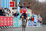Tim Wellens secured Lotto Soudal's first victory of the season. The Belgian took an impressive solo victory at the end of Stage 3 of the 51st edition of the Etoile de Besseges,  starting and finishing in Bessèges, France. 4th February 2021<br /> Picture: Photo News   Cyclefile<br /> <br /> All photos usage must carry mandatory copyright credit (© Cyclefile   Photo News)