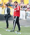 Livingston manager Richie Burke.