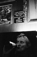 Jazz Club Arthurs Place im New Yorker Bezirk Greenwich Village.<br /> New York City, 4.1.1999<br /> Copyright: Christian Ditsch/version-foto.de