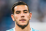Theo Hernandez of Real Madrid reacts after winning the Supercopa de Espana Final 2nd Leg match between Real Madrid and FC Barcelona at the Estadio Santiago Bernabeu on 16 August 2017 in Madrid, Spain. Photo by Diego Gonzalez Souto / Power Sport Images