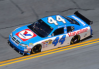Feb 07, 2009; Daytona Beach, FL, USA; NASCAR Sprint Cup Series driver A.J. Allmendinger during practice for the Daytona 500 at Daytona International Speedway. Mandatory Credit: Mark J. Rebilas-