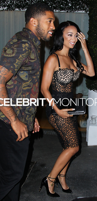 WEST HOLLYWOOD, CA, USA - JULY 14: Orlando Scandrick, Draya Michele arrive at the 9th Annual All-Star Celebrity Kickoff Party held at the Mondrian Los Angeles on July 14, 2014 in West Hollywood, California, United States. (Photo by Xavier Collin/Celebrity Monitor)