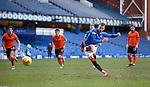 21.02.2021 Rangers v Dundee Utd: Borna Barisic has his penaty kick saved by Benjamin Siegrist