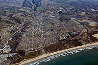 aerial photograph of Arroyo Grande and Oceano, San Luis Obispo County, California