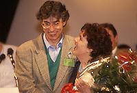 Umbrto Bossi e la moglie Manuela Marrone, 1996