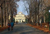 - park and Ducale palace, center of the European Authority for Feeding<br /> <br /> - parco e palazzo Ducale, sede dell'Autorità Europea per l'Alimentazione