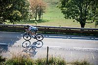 Daniel Oss (ITA/BORA-hansgrohe)<br /> <br /> Stage 16 from La Tour-du-Pin to Villard-de-Lans (164km)<br /> <br /> 107th Tour de France 2020 (2.UWT)<br /> (the 'postponed edition' held in september)<br /> <br /> ©kramon