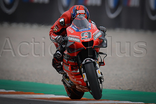 13th November 2020, Circuit Ricardo Tormo, Valencia, Spain;  MotoGP, Grand Prix of Valencia, free practise sessions;  09 Danilo Petrucci ITA