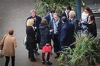 05 fÈvrier 2017, Palais des CongrËs, Lyon - Meeting de Marine Le Pen ‡ Lyon. Gilbert Collard, dÈputÈ du Var et des sympatisants. # MEETING DE MARINE LE PEN A LYON
