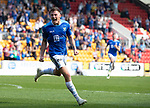 St Johnstone v Dundee….20.04.19   McDiarmid Park   SPFL<br />Callum Hendry celebrates his goal<br />Picture by Graeme Hart. <br />Copyright Perthshire Picture Agency<br />Tel: 01738 623350  Mobile: 07990 594431