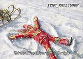 Marcello, CHRISTMAS CHILDREN, WEIHNACHTEN KINDER, NAVIDAD NIÑOS, paintings+++++,ITMCXM1136NEW,#xk# ,playing in snow