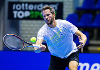 Rotterdam, Netherlands, December 16, 2017, Topsportcentrum, Ned. Loterij NK Tennis,  Jasper Smit (NED) <br /> Photo: Tennisimages/Henk Koster