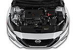 Car Stock 2020 Nissan Altima SV 4 Door Sedan Engine  high angle detail view