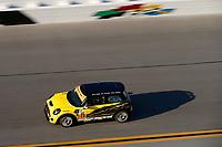 IMSA Continental Tire SportsCar Challenge<br /> The Roar Before the Rolex 24<br /> Daytona International Speedway<br /> Daytona Beach, FL USA<br /> Saturday 6 January 2018<br /> 73, MINI, MINI JCW, ST, Mark Pombo, Jared Salinsky, Mike LaMarra<br /> World Copyright: Jake Galstad<br /> LAT Images