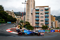 22nd May 2021; Principality of Monaco; F1 Grand Prix of Monaco, qualifying sessions;  63 RUSSELL George (gbr), Williams Racing F1 FW43B