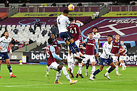 `a4a` heads over during West Ham United vs Aston Villa, Premier League Football at The London Stadium on 30th November 2020