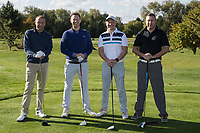 Pictured from left are David Insley, Nick Taylor, Mark Deakin and Richard Deakin of Team Turner & Townsend
