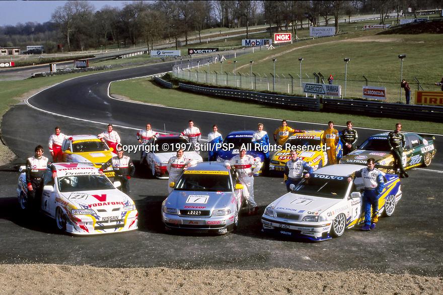 1997 British Touring Car Championship media day.