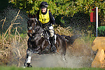 Libby Head (USA) aboard Sir Rock Star during the ** Cross Country eventing  at  Fair Hill International in Fair Hill, MD  on 10/15/11.  (Ryan Lasek / Eclipse Sportwire)