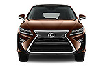 Car photography straight front view of a 2016 Lexus RX Executive 5 Door SUV Front View