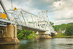 East Haddam Swing Bridge, Connecticut River. Route 82.