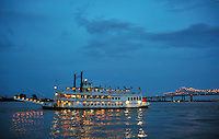 Creole Queen River Boat, New Orleans.