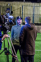 Wednesday 08 February 2017<br /> Pictured: Mark Birighitti <br /> Re: Premier League Kicks event at Baglan Boys and girls Club, Port Talbot, Wales UK