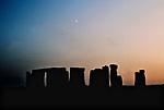 Stonehenge sunset over ancient monument UK