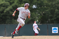 31 May 2008: Stanford Cardinal Jason Castro during Stanford's 5-1 win against the Arkansas Razorbacks in game 3 of the NCAA Stanford Regional at Sunken Diamond in Stanford, CA.