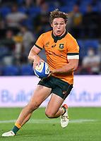 2nd October 2021, Cbus Super Stadium, Gold Coast, Queensland, Australia;  Australia captain Michael Hooper.<br /> Australian Wallabies versus Argentina Pumas. Rugby Championship test match. Rugby Union. Gold Coast, Australia.