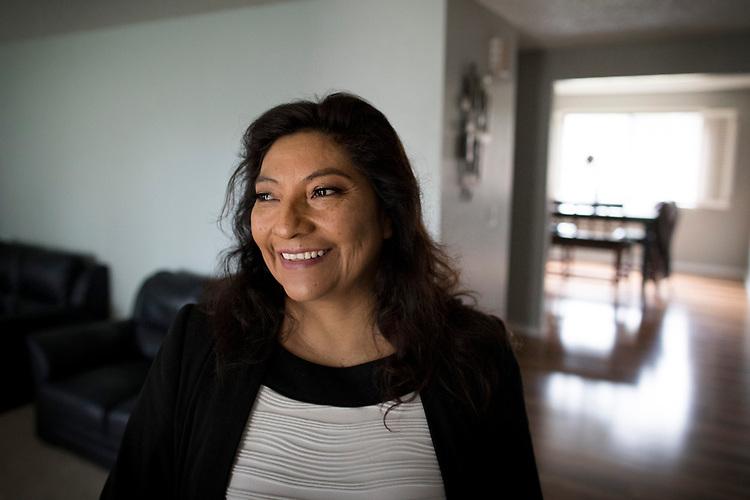 Jenny Soriano moved into her Hillsboro home in December 2017.<br /> Photo by Jaime Valdez