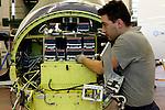 12 gennaio 2012, ore 12,49,Genova Sestri, Piaggio Aero<br /> collaudatore del Service Center e manutenzione,  del velivolo P. 180 Avanti II
