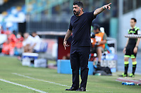 Gennaro Gattuso coach of Napoli<br /> during the Serie A football match between SSC  Napoli and SPAL at stadio San Paolo in Naples ( Italy ), June 28th, 2020. Play resumes behind closed doors following the outbreak of the coronavirus disease. <br /> Photo Cesare Purini / Insidefoto