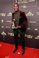 FAMARA DIEDHIOU elu Meilleur joueur de ligue 2 - 25eme Ceremonie des Trophees UNFP au Pavillon Gabriel