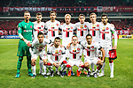 The Western Sydney Wanderers squad pose for team photo during the AFC Champions League 2017 Group F match between Shanghai SIPG FC (CHN) vs Western Sydney Wanderers (AUS) at the Shanghai Stadium on 28 February 2017 in Shanghai, China. Photo by Marcio Rodrigo Machado / Power Sport Images