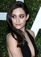 BEVERLY HILLS, CA, USA - OCTOBER 02: Emmy Rossum arrives at Michael Kors Launch Of Claiborne Swanson Franks's 'Young Hollywood' Book held at a Private Residence on October 2, 2014 in Beverly Hills, California, United States. (Photo by Xavier Collin/Celebrity Monitor)