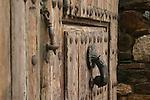 Porta casa rural, Puerta de casa rural, Rural door,Tor des ländlichen Raums