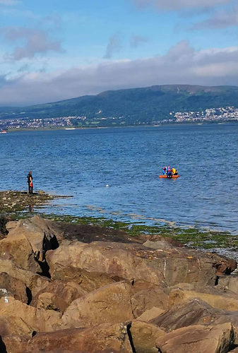 Man Rescued from Mud in Belfast Lough