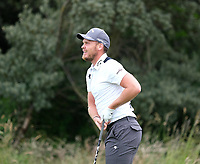 7th July 2021; North Berwick, East Lothian, Scotland;  Danny Willett England on the 5th tee during the Celebrity Pro-Am at the abrdn Scottish Open at The Renaissance Club, North Berwick, Scotland.