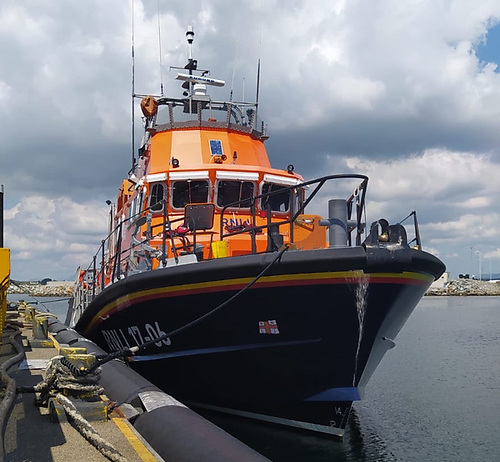 Aran Islands RNLI all-weather Severn class lifeboat