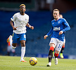 22.08.2020 Rangers v Kilmarnock: Ryan Kent on the attack