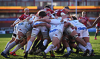 26th March 2021; Kingsholm Stadium, Gloucester, Gloucestershire, England; English Premiership Rugby, Gloucester versus Exeter Chiefs; Exeter Chiefs defend the rolling maul from Gloucester