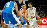 SERBIA - GREECE BASKETBALL WORLD CUP SPAIN MADRID<br /> sunday September 07. 2014.<br /> Milos Teodosic