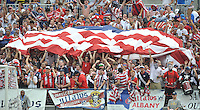 U.S. Fans.  The USMNT defeated El Salvador 5-1 at the quaterfinal game of the Concacaf Gold Cup, M&T Stadium, Sunday July 21 , 2013.