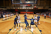 SAN ANTONIO, TX - JANUARY 11, 2018: The University of Texas at San Antonio Roadrunners fall to the Florida International University Panthers 79-76 at the UTSA Convocation Center. (Photo by Jeff Huehn)