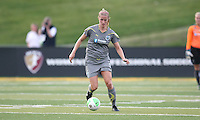 Philadelphia defender, Allison Falk (3), controls the ball in back.  The Philadelphia Independence defeated the Atlanta Beat, 1-0 in an early season rematch of their opener.