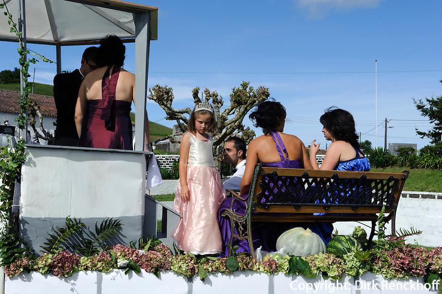 Fest der Senhora dos  Milagros in Arrifes auf der Insel Sao Miguel, Azoren, Portugal