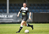Valentine Hannecart (8) of Eendracht Aalst pictured during a female soccer game between Eendracht Aalst and Racing Genk on the 10 th and last matchday of play off 2 of the 2020 - 2021 season of Belgian Scooore Womens Super League , Saturday 29 st of May 2021  in Aalst , Belgium . PHOTO SPORTPIX.BE | SPP | DAVID CATRY