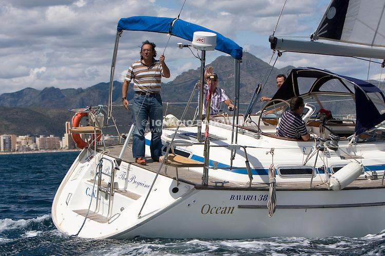 Beguin the Beguine .I REGATA CAP I CUA, Oliva-Canet d'en Berenguer. 6-7- Junio 2009